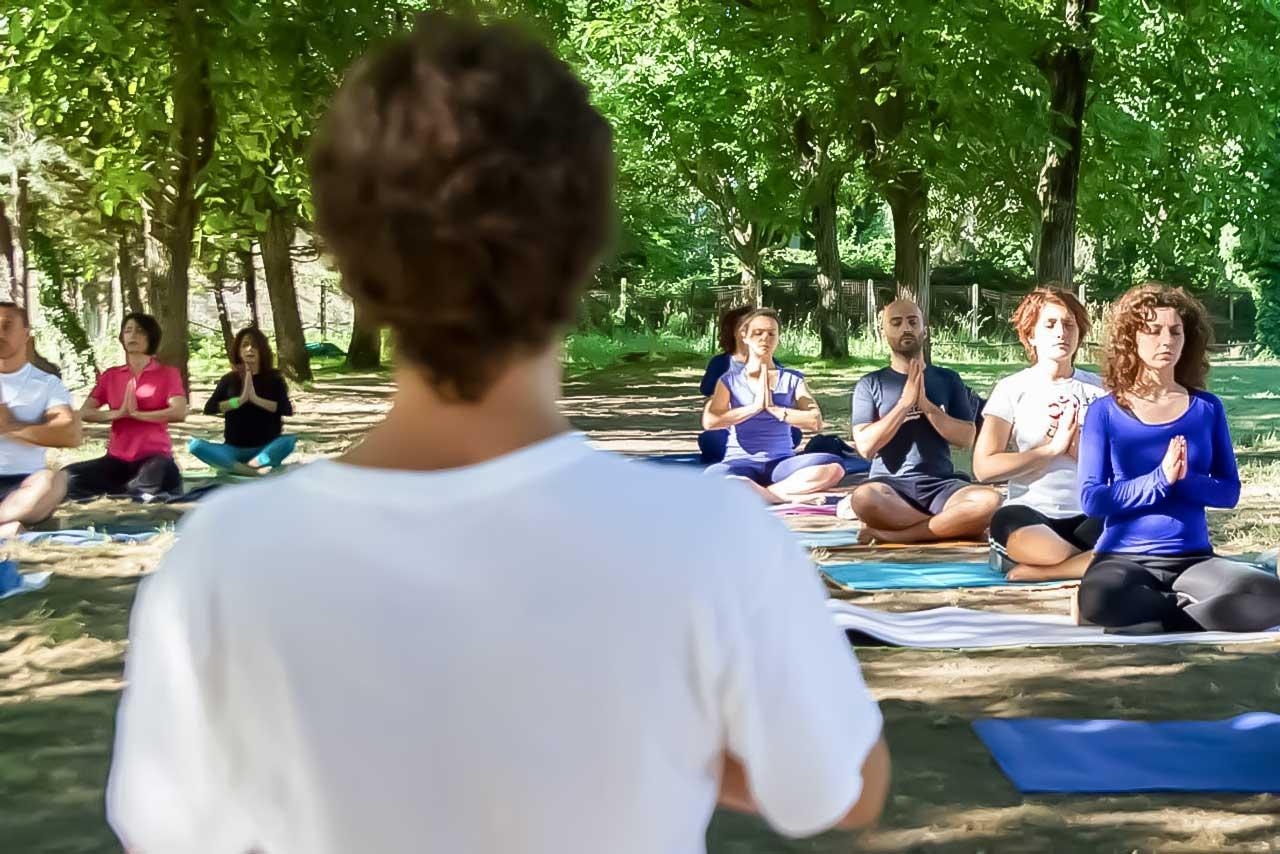 yoga studio aversa - testata uno